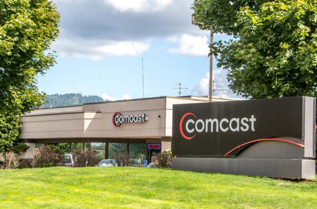 Comcast building