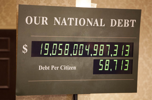 National Debt calculator