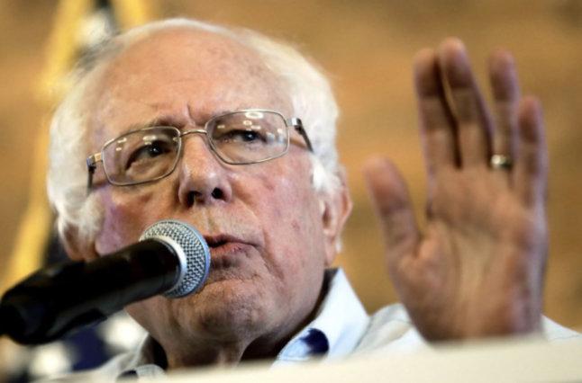 Sen Bernie Sanders (I Vt) (Chris O'Meara AP)