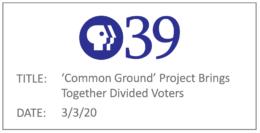 PBS 39 - Malinowski Coverage