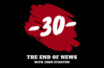 Graphic for The End of News podcast