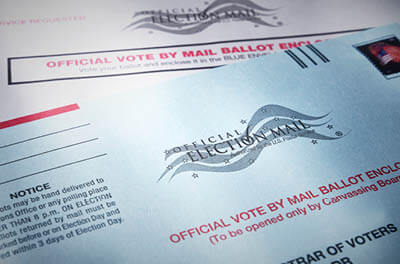 Vote by mail ballot