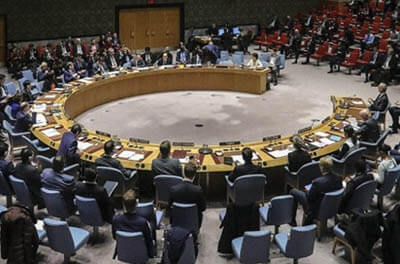 Photo of the United Nations General Council