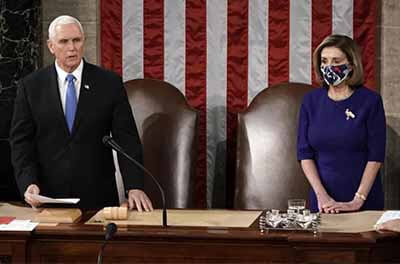 On Jan. 6, then-Vice President Mike Pence and Speaker Nancy Pelosi officiated the counting of electoral college votes — a process experts say needs urgent reform.